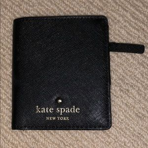 Kate Spade Black Mini Wallet